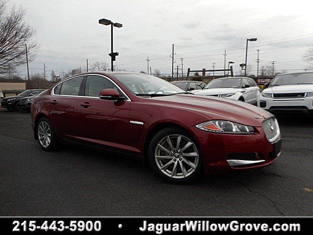 Range Rover Willow Grove >> Certified Pre-Owned 2013 Jaguar XF I4 RWD 4dr Car in Willow Grove #J17052A | Land Rover Willow Grove